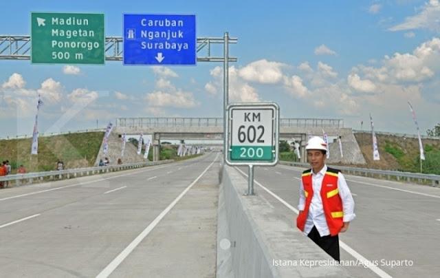 Berkualitas Rendah, Infrastruktur Jokowi Menyeramkan
