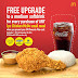 SMAC Treats: FREE Medium Drink Upgrade for Chicken McDo Meals
