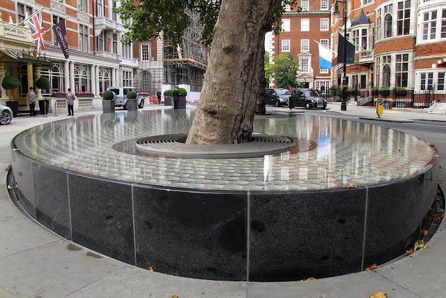 Silence by Tadao Ando, Carlos Place, Mayfair, London