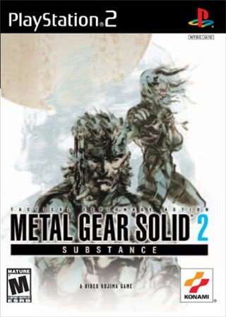 Metal Gear Solid 2 - Substance (USA) ISO