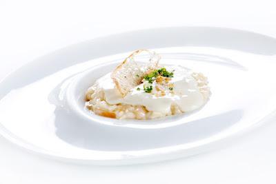 risotto con Graukase- chef Niederkofler