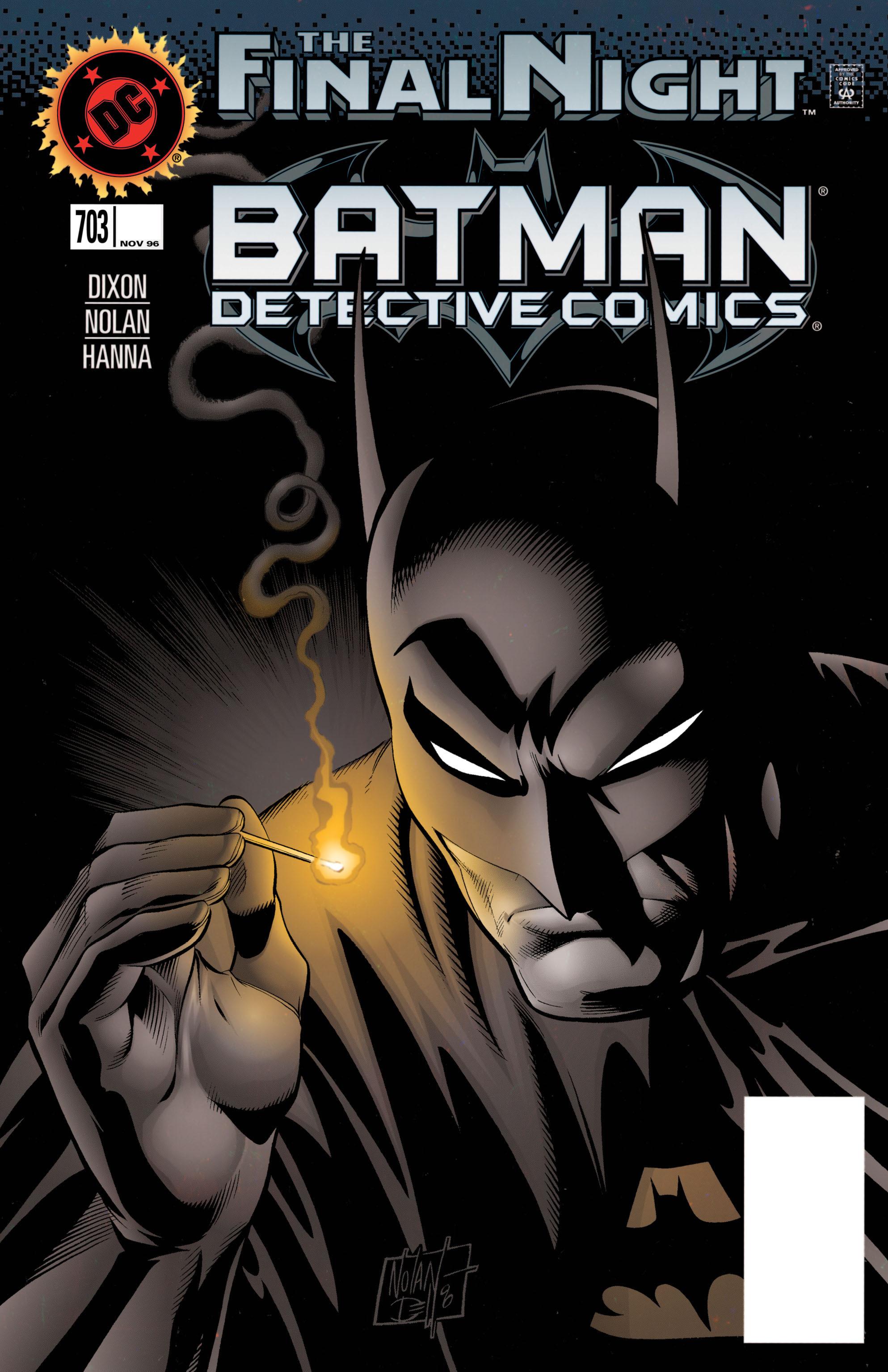 Detective Comics (1937) 703 Page 0