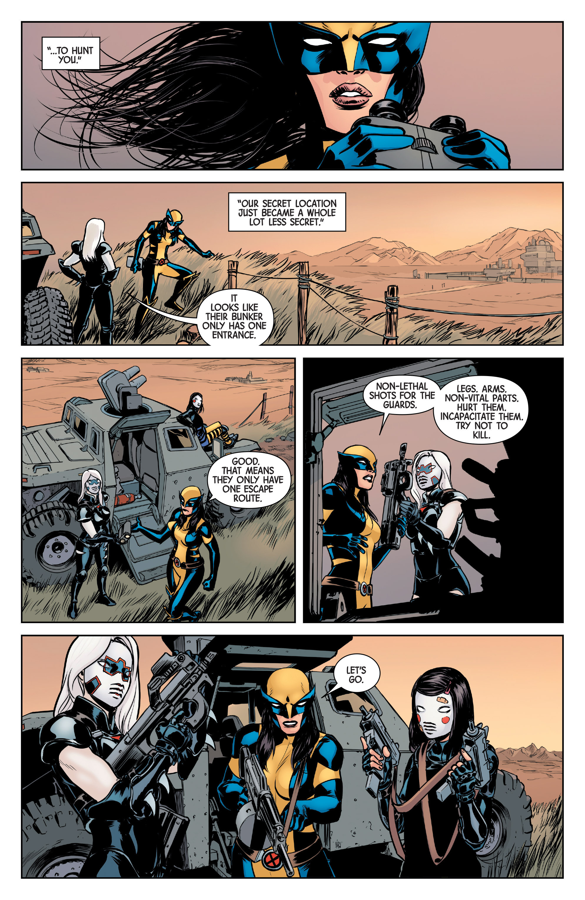 Read online All-New Wolverine (2016) comic -  Issue #6 - 5