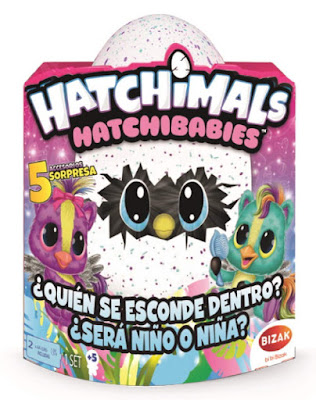 HATCHIMALS HatchiBabies : Ponette  Producto Oficial 2018 | Bizak 61929138 | A partir de 5 años  COMPRAR ESTE JUGUETE
