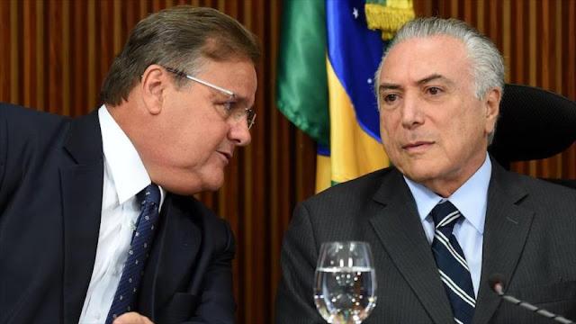 Temer afronta nueva crisis tras renuncia de su sexto ministro