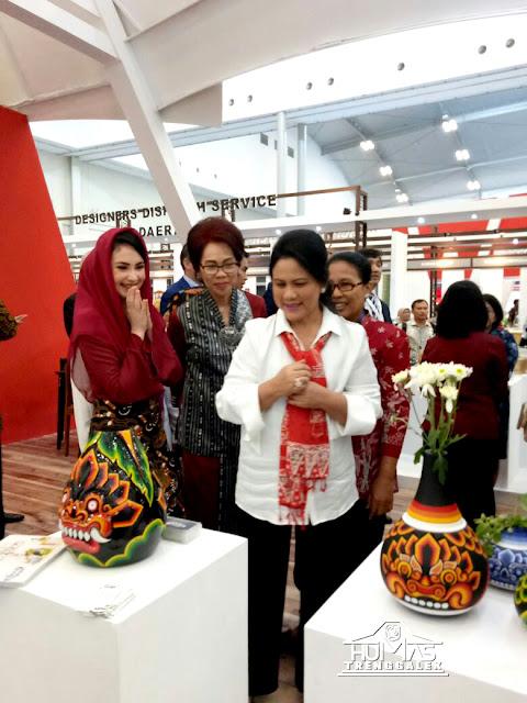 Iriana Joko Widodo Terpikat Kucur Tanjung Trenggalek