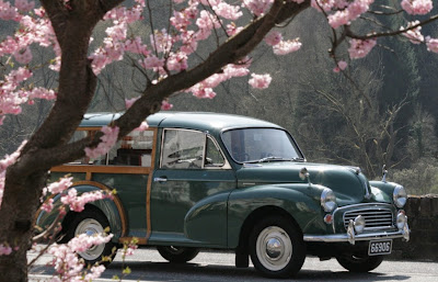 Oldtimer Morris Minor Traveller