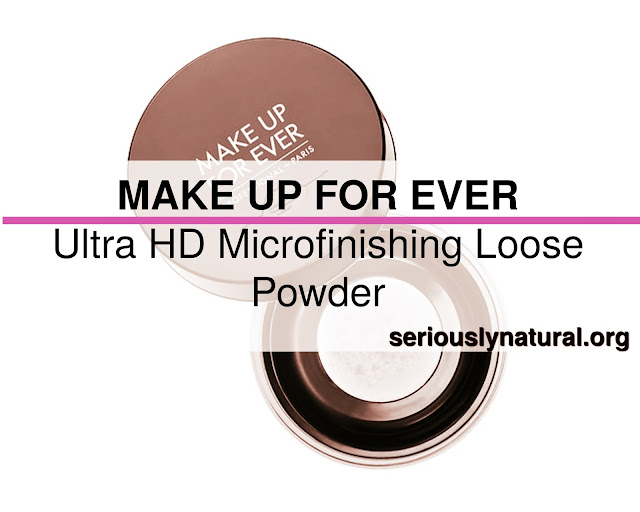 Click here to buy MAKE UP FOR EVER Ultra HD Micro finishing Loose Powder, my favorite finishing powder from Sephora!