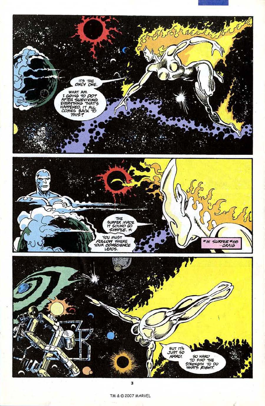 Read online Silver Surfer (1987) comic -  Issue #70 - 5
