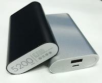 PowerBank 5200 mAh   P52AL11 Metal Alumunium