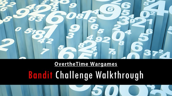 OvertheWire Wargames: Bandit Challenge Walkthrough
