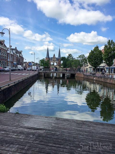 Wassertor Sneek, Friesland (Niederlande)
