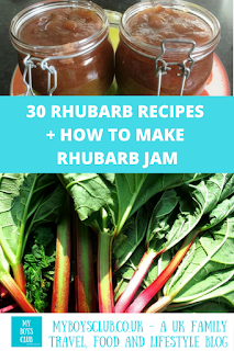 rhubarb jam and rhubarb recipes