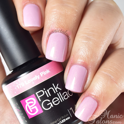 Pink Gellac Lovely Pink Swatch