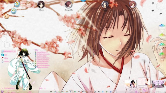 Kara no Kyoukai Theme Win 7 by Andrea_37