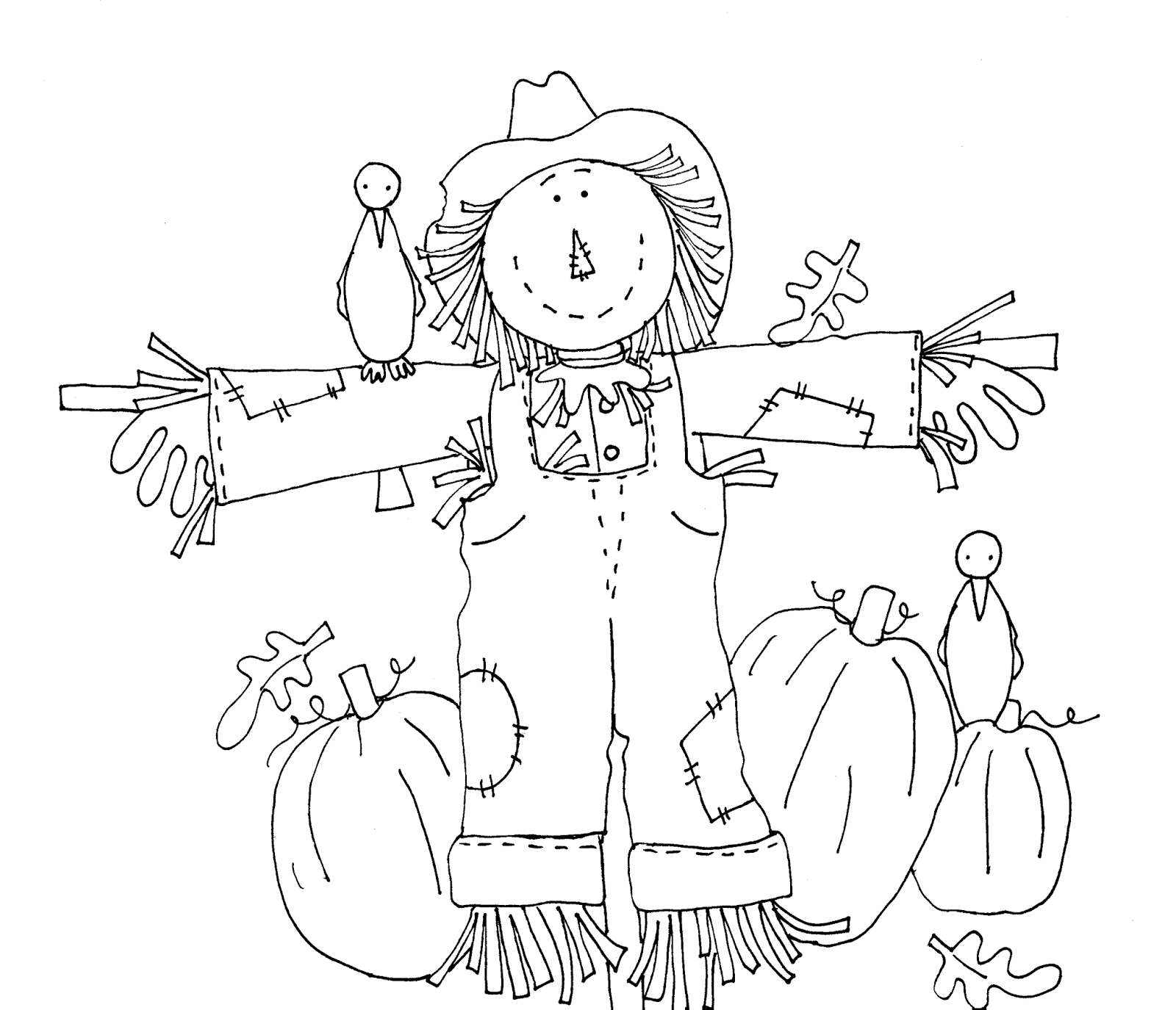 Images About Scarecrows