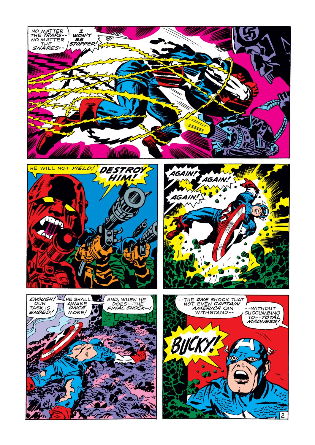 Captain America (1968) Issue #107 #21 - English 3