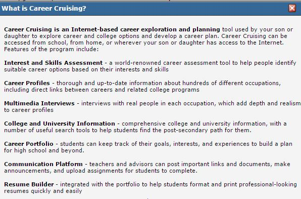 Awtrey Counselor Connections 2017 - career cruising resume builder