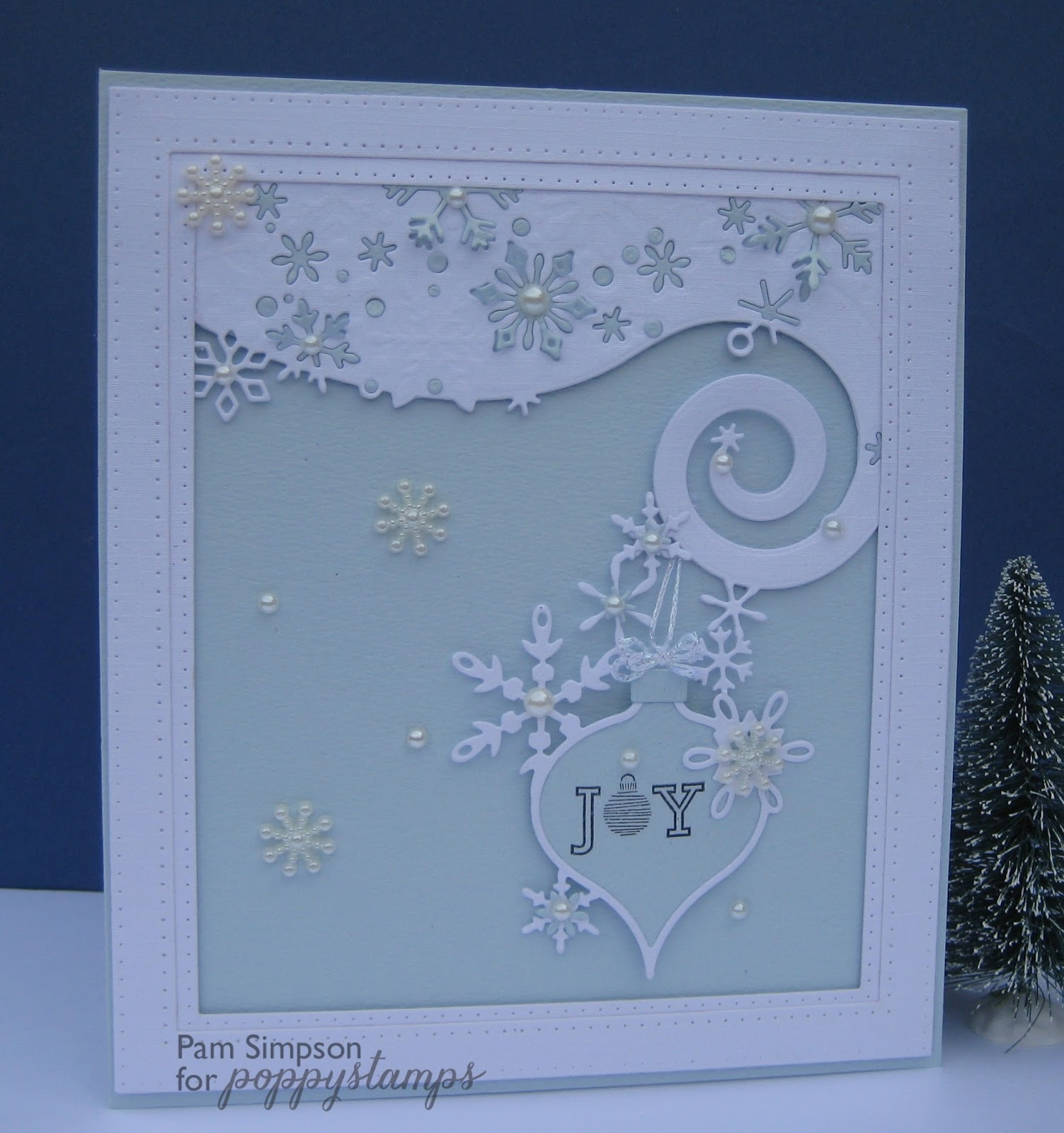 Pamscrafts Snow Flake Wave Amp Bauble