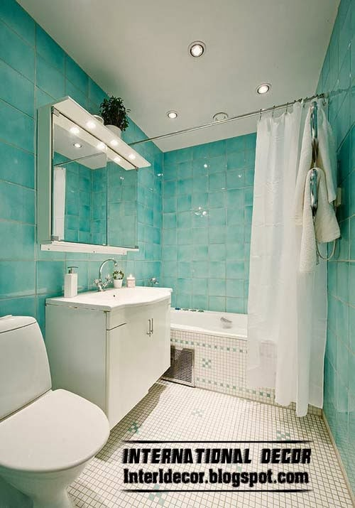 Awesome Turquoise Bathroom Mediterranean Other Metro By