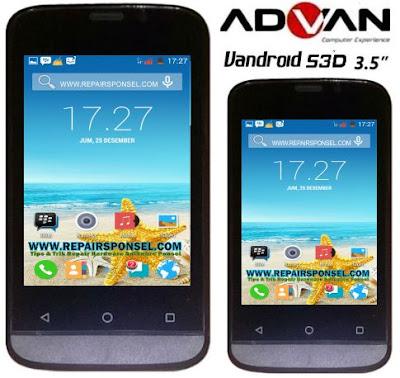 Cara Flash Advan S3D