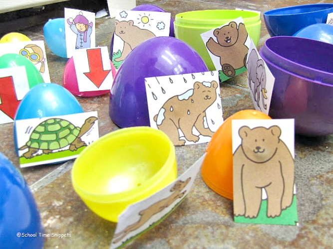 learning with Easter eggs