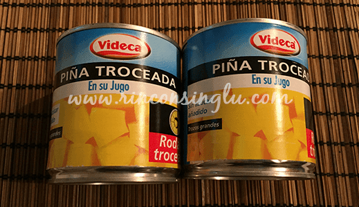 piña sin gluten
