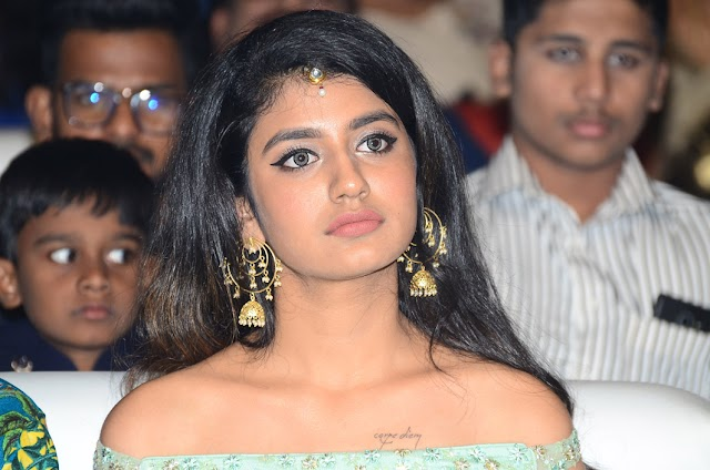 Priya Varrier at Lovers Day Audio Launch