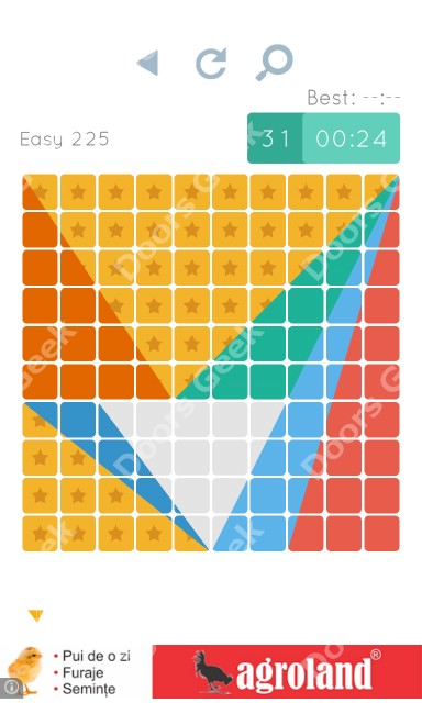 Cheats, Walkthrough for Blocks and Shapes Level 225