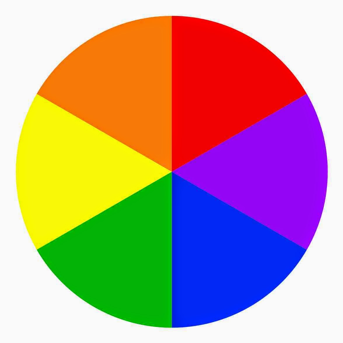 The Colour Wheel Is Used To Bring Harmony Between Contrasting Colours And Allow Two