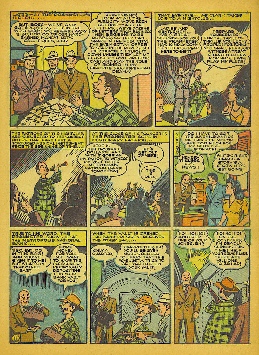 Read online Action Comics (1938) comic -  Issue #51 - 14