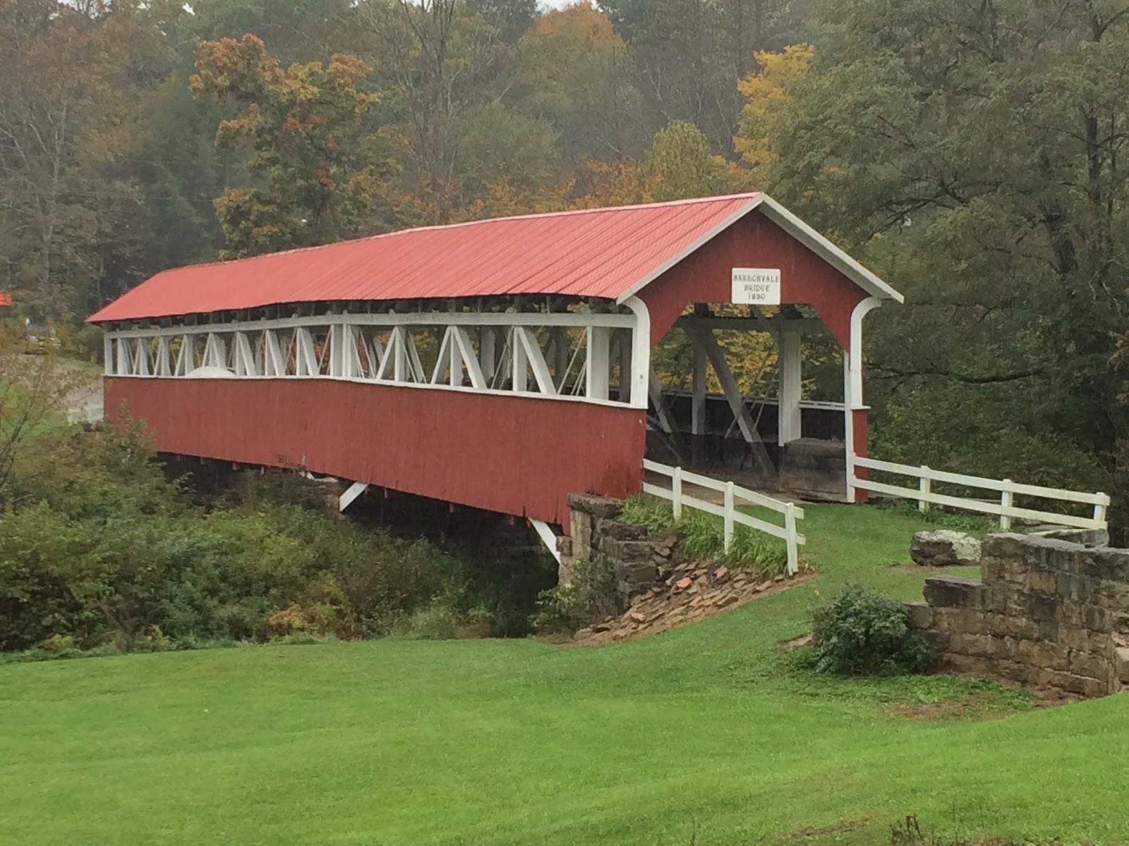 Barronvale and Kings Covered Bridges Barronvale PA Somerset County  Interesting Pennsylvania