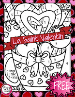 https://www.teacherspayteachers.com/Product/FREE-French-Valentine-Colour-By-Number-2376149