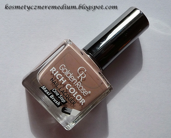 Golden Rose Rich Color Nail Laquer nr 05, golden rose, lakier do paznokci, Rich Color, nude, beż, beige, nude na paznokciach, wizaz