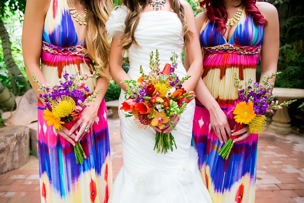 Savvy Deets Bridal: Real Weddings: Festive Mexican Themed