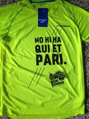 Camiseta BDN Running 2016