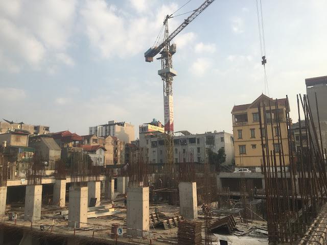 Tiến độ mới nhất dự án 349 Vũ Tông Phan