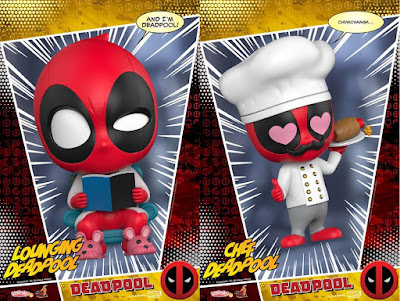 Deadpool Corps Cosbaby Bobble Head Mini Figures by Hot Toys x Marvel Comics