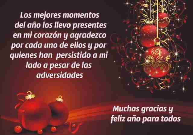 Bonito mensaje para celebrar la llegada del año nuevo