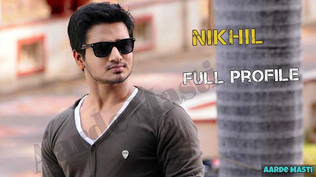 nikhil siddharth height