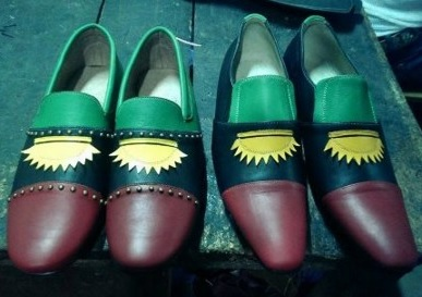 What A Creativity! See BIAFRA Designed Shoe