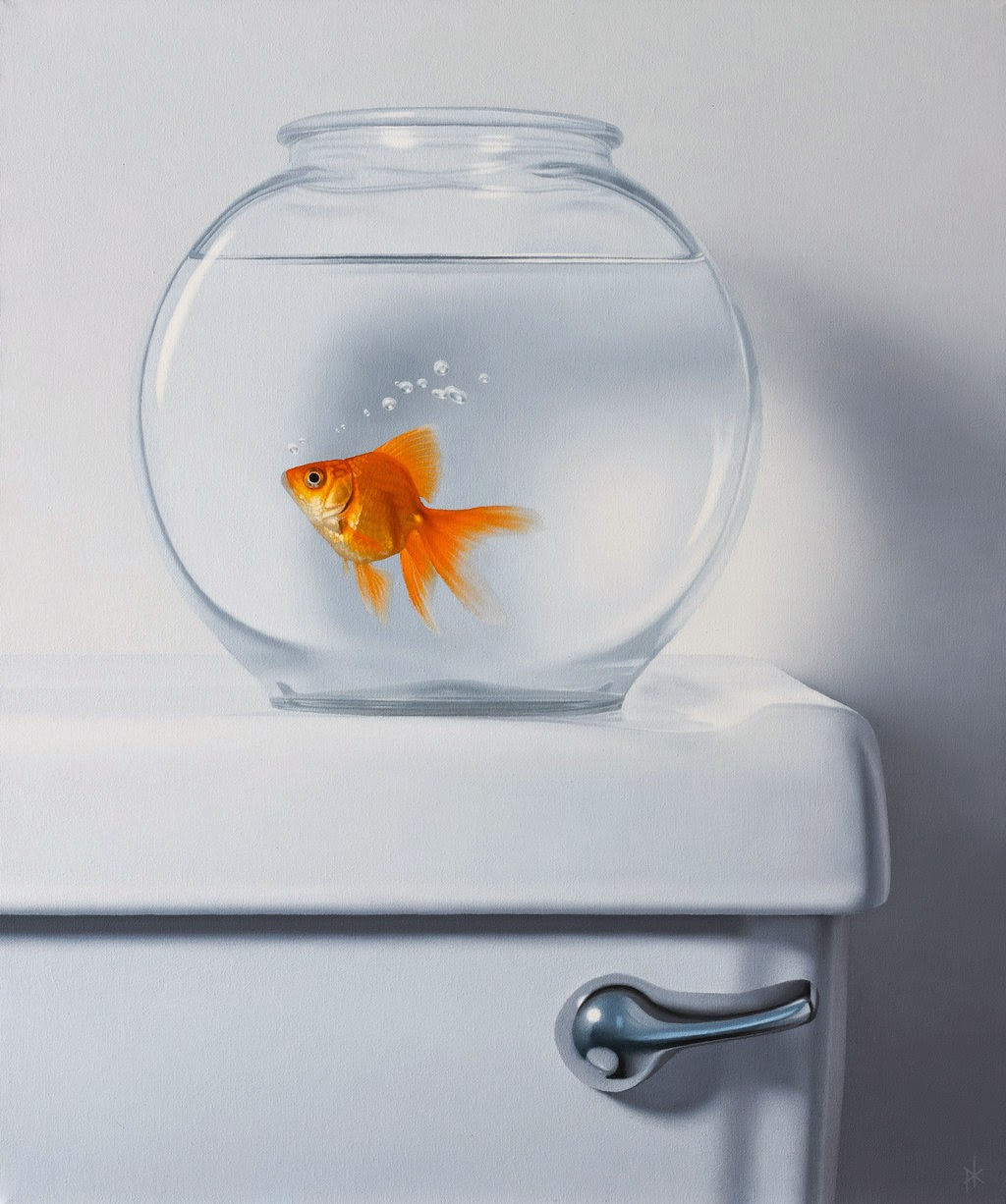 09-Living-on-the-Edge-Patrick-Kramer-Hyper-Realistic-Paintings-www-designstack-co