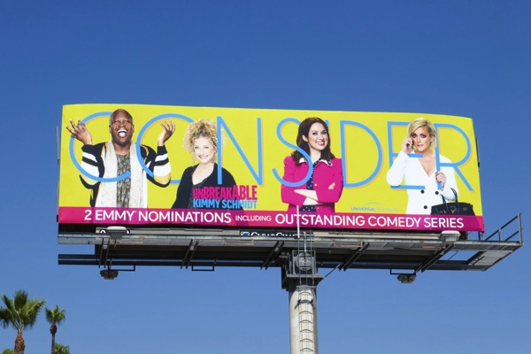Consider Unbreakable Kimmy Schmidt 2018 Emmy nominee billboard