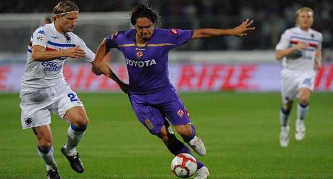 live streaming fiorentina vs sampdoria 13 desember 2017
