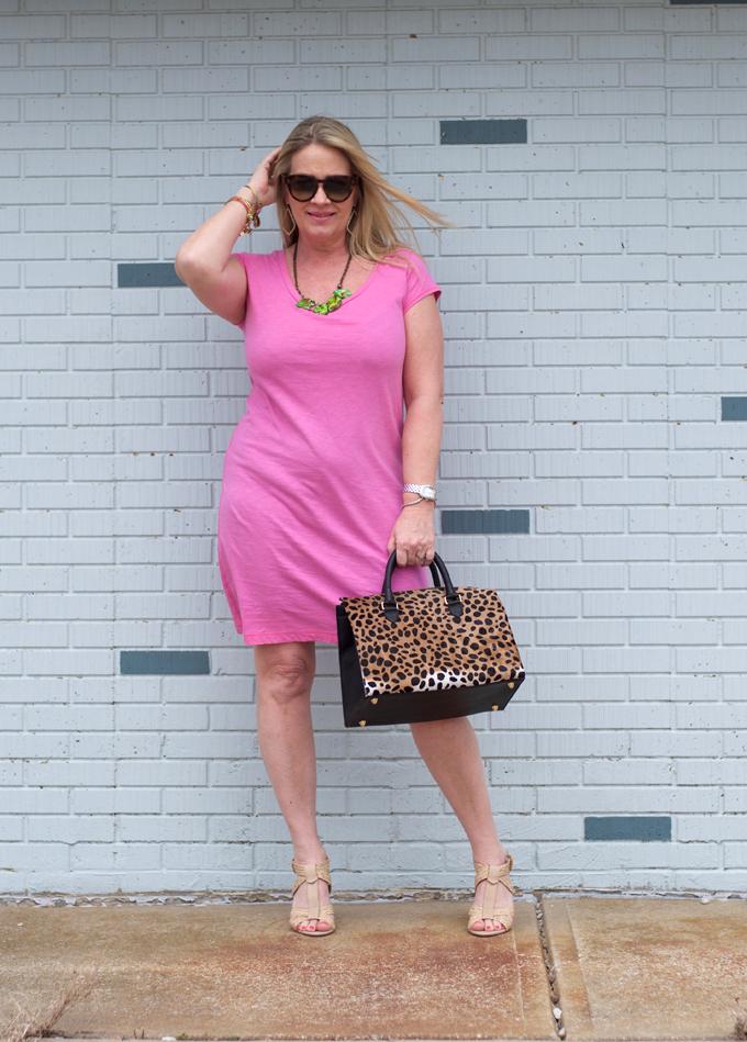 Pink-spring-dress