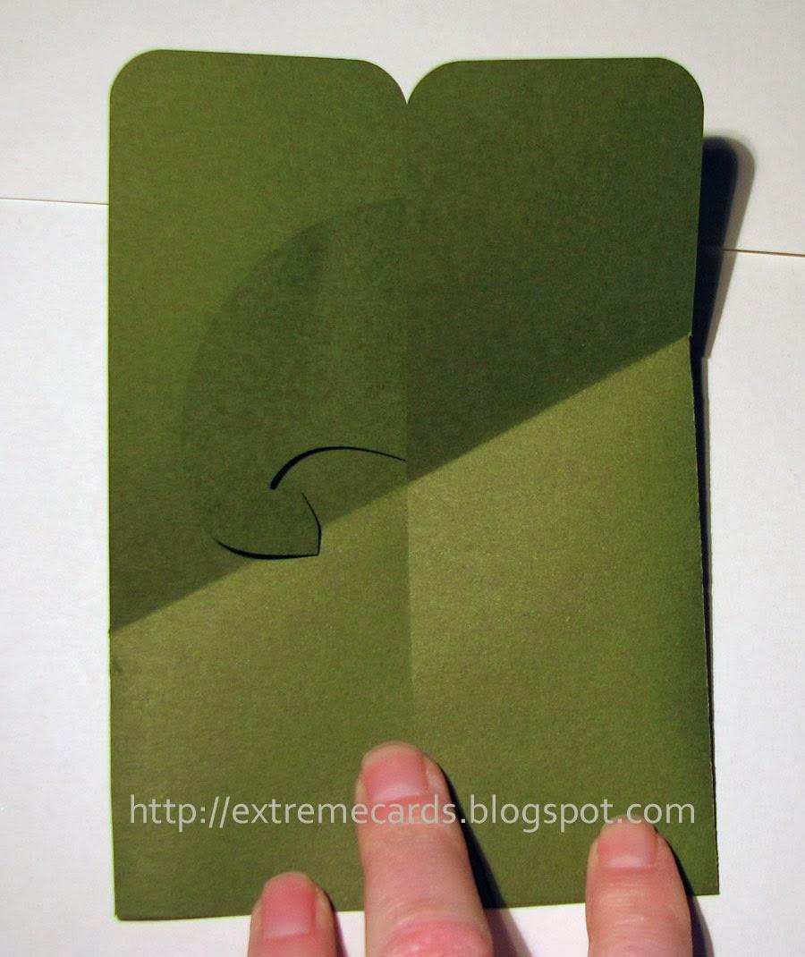 card in a box closed