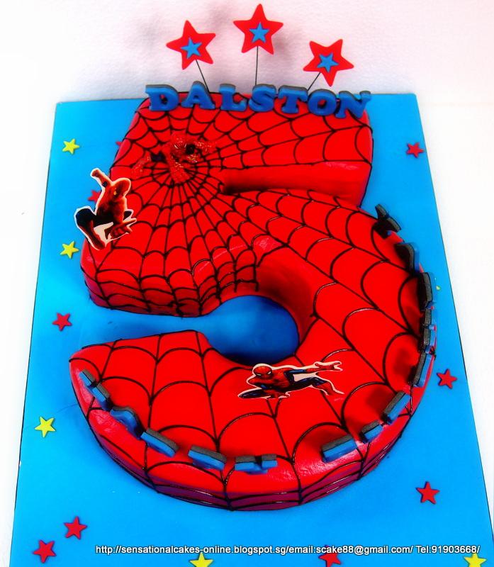 Spiderman Ice Cream Cake Singapore
