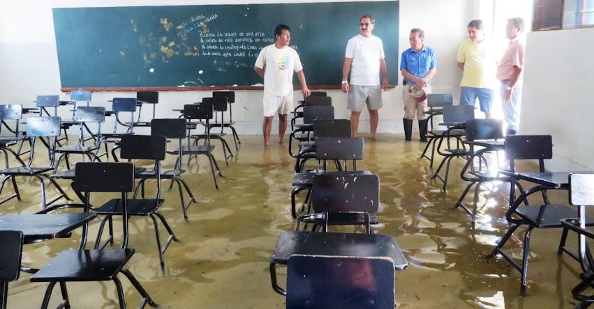 ATENCIÓN: Suspenden hasta nuevo aviso inicio del año escolar debido a inundaciones en Piura