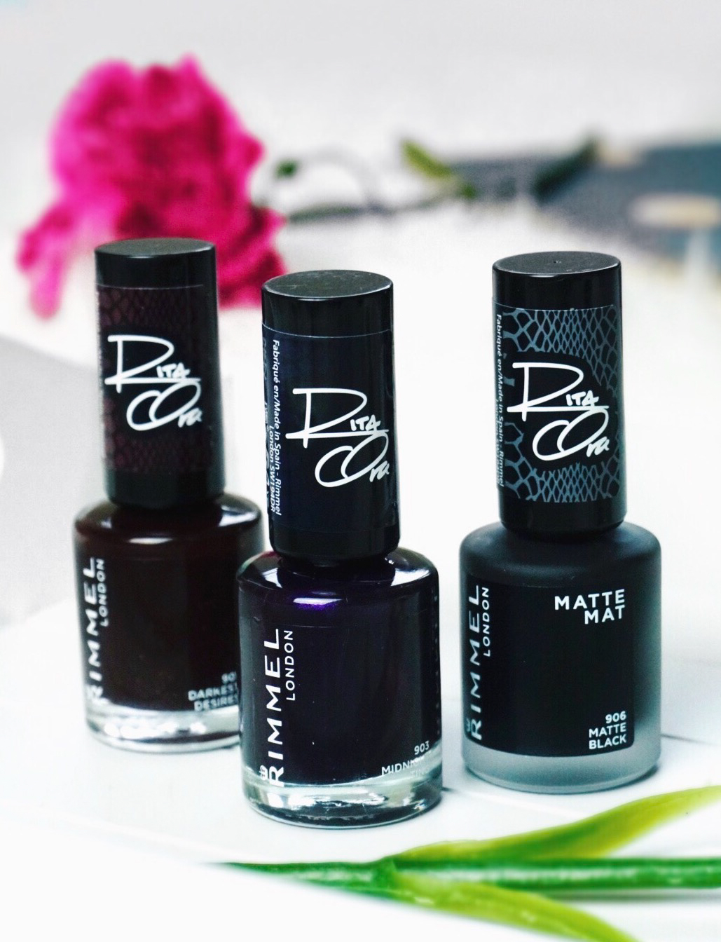 New In: Rimmel Shades of Black Collection by Rita Ora ...