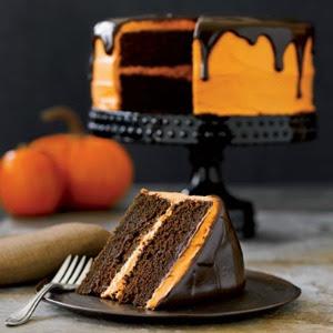 Czekoladowe ciasto z pomarńczą